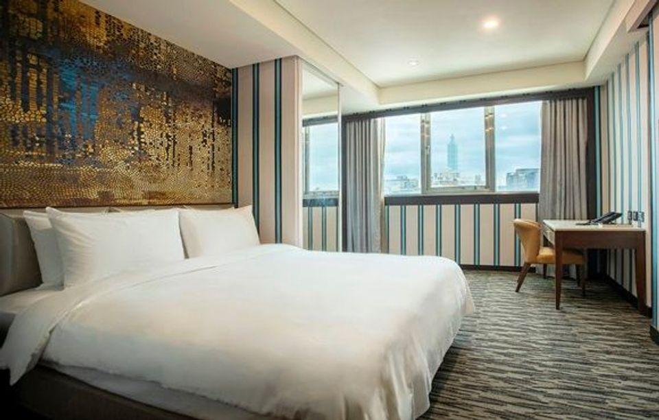 大窗戶房型-台北防疫旅館-台北市防疫旅館-諾帝克商務飯店