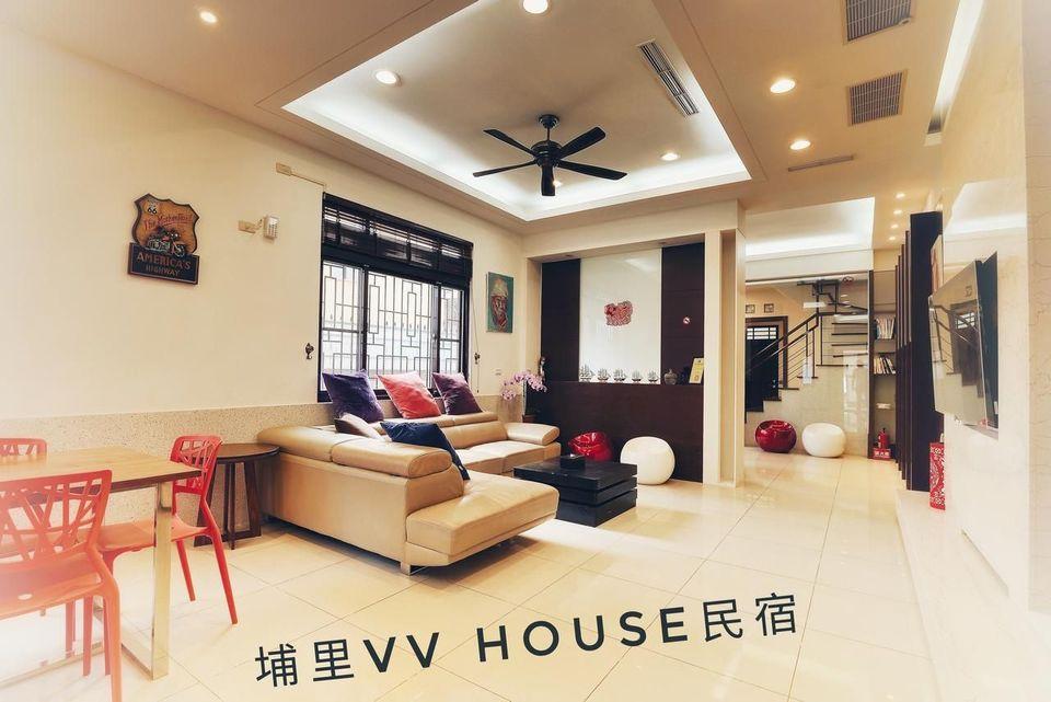 南投住宿推薦-南投民宿-VV House