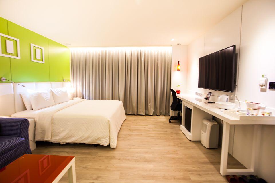 桃園汽車旅館-超平價桃園motel-馬卡龍旅館